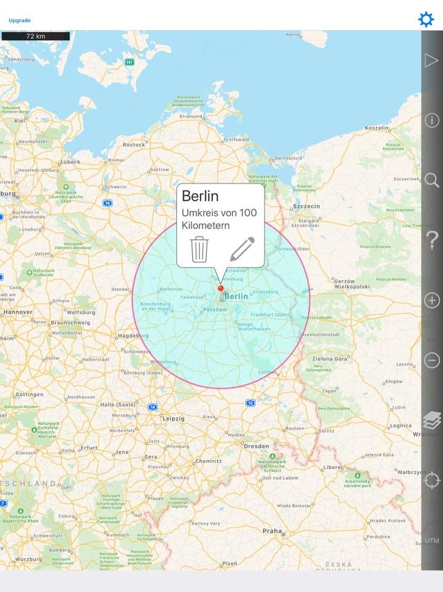Google Maps Radius In Karte Zeichnen