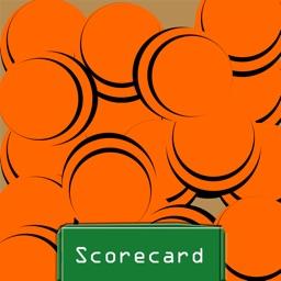 Trap Shooting Scorecard