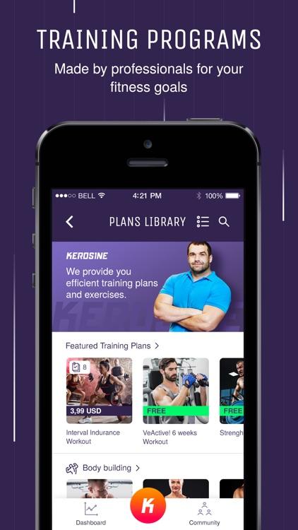 Kerosine Gym App