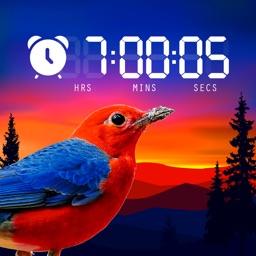 Alarm nature clock for iphone