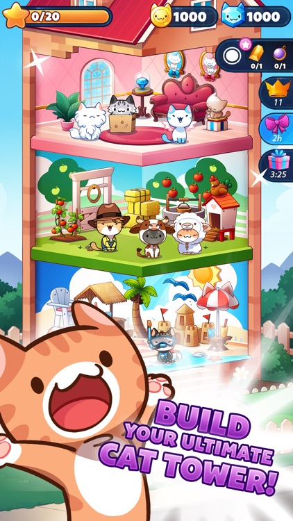 Cat Game - The Cats Collector! screenshot-3