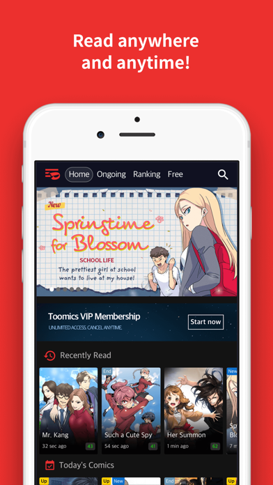 Toomics - Unlimited Comics by TOOMICS GLOBAL CO , LTD (iOS, United