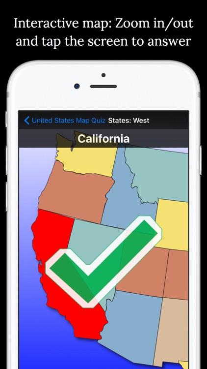 United States Map Quiz screenshot-3