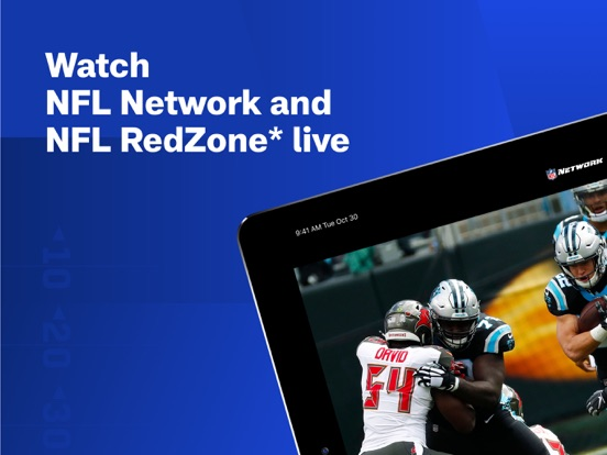 iPad Image of NFL Network
