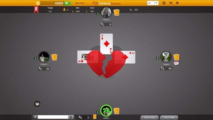 Hearts by ConectaGames screenshot-4