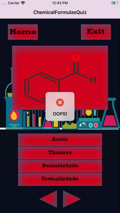 ChemicalFormulasIQ screenshot 4