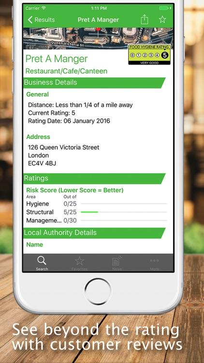 UK Food Hygiene Ratings screenshot-4