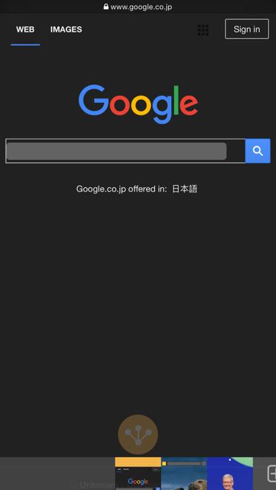 Ohajiki Web Browser Screenshots