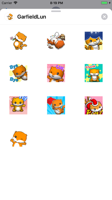 Garfield Lun By Zhou Miao on the AppStore