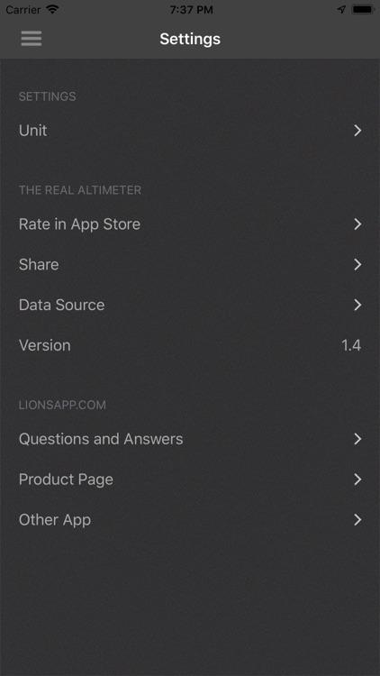 The real Altimeter screenshot-5