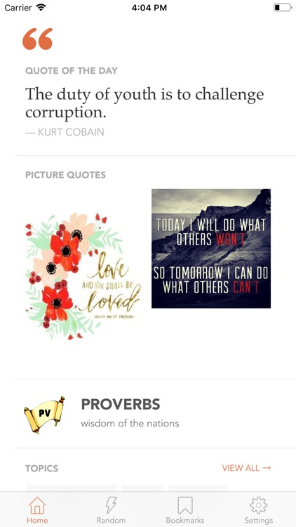 Daily Quotes & sayings -Quotlr screenshot-5