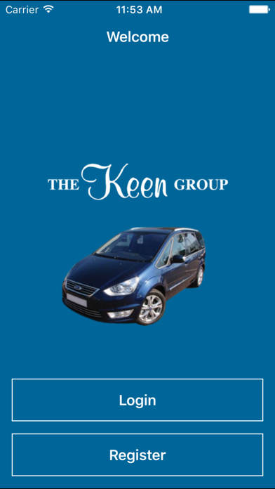 Keen Group Minicab TAXI screenshot one