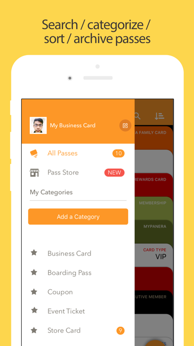 Pass2U Wallet - cards/coupons Screenshot