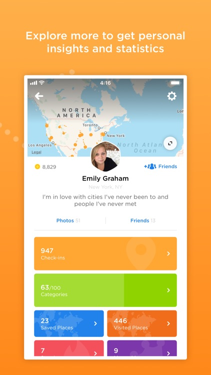 Foursquare Swarm: Check-in App screenshot-5