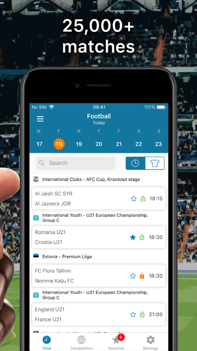 SportEventz - Live sport on TV Screenshots