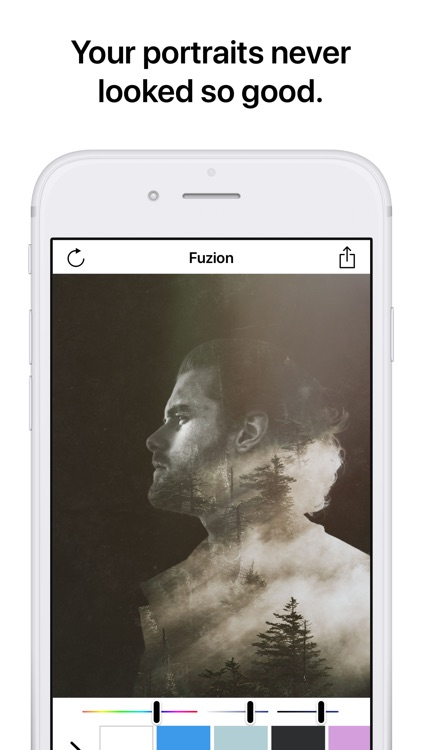Fuzion - Portrait Mode Editor screenshot-3