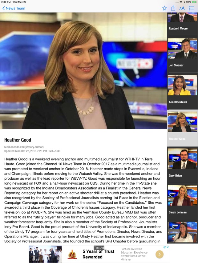 WTHI News 10 on the App Store