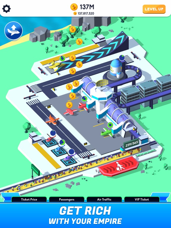 Idle Airport Tycoon screenshot 1