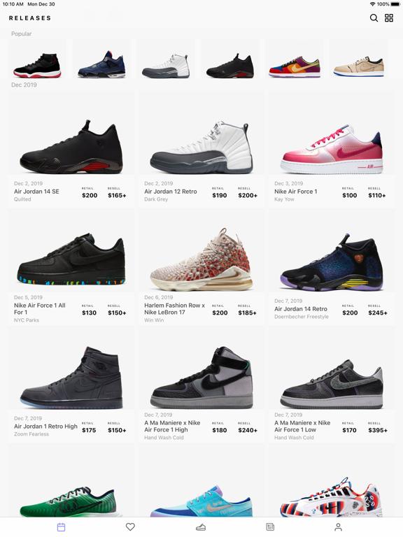 Sneaker Crush - Release Dates | App