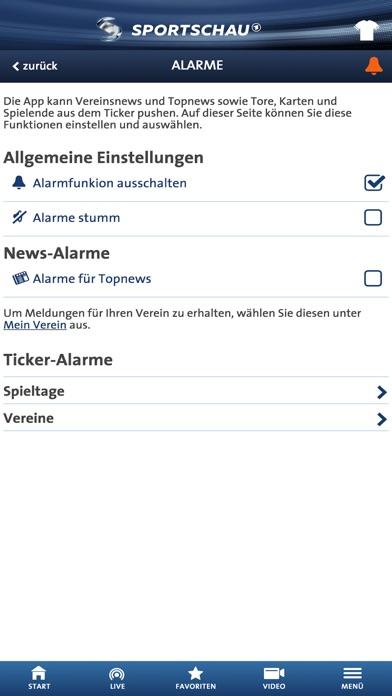 Screenshot for SPORTSCHAU in Germany App Store