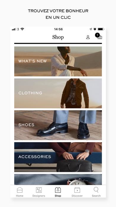 Screenshot #3 pour MR PORTER | Luxury Fashion