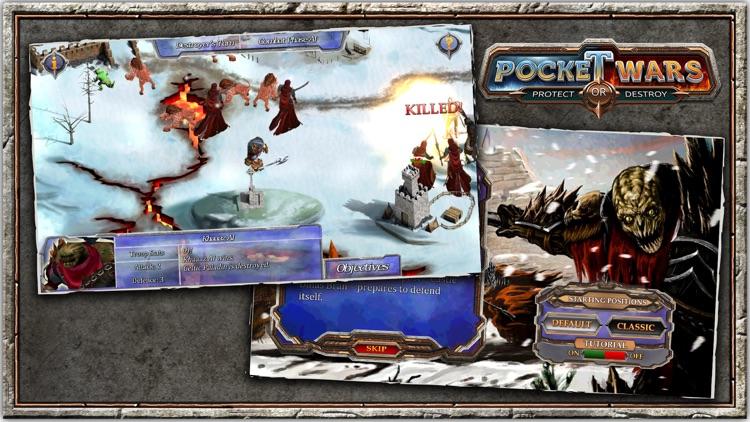 Pocket Wars Protect or Destroy screenshot-3