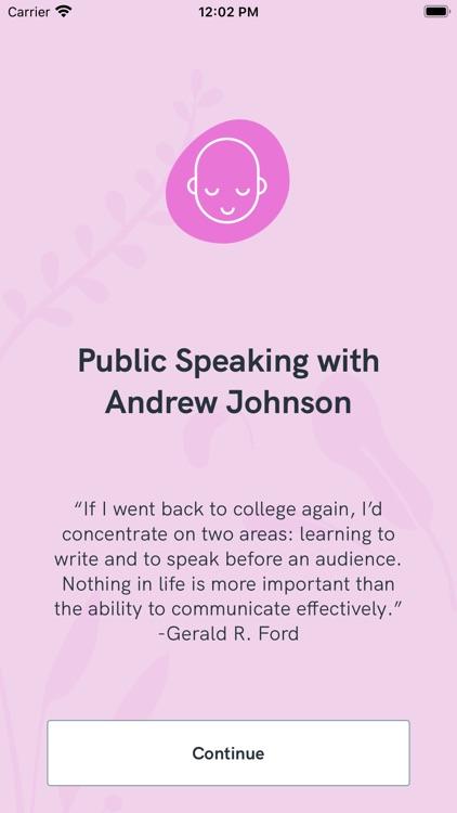 Public Speaking with AJ