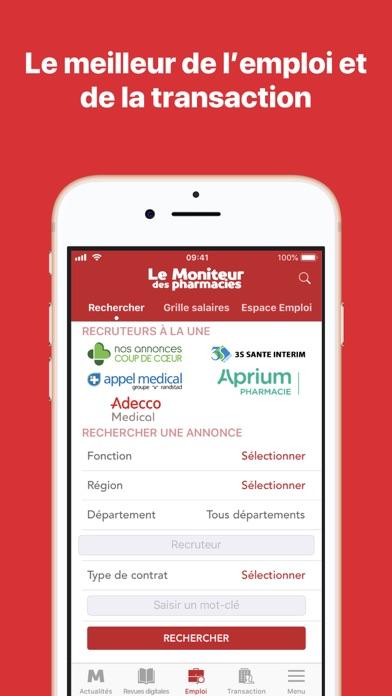 Le Moniteur des pharmacies.fr screenshot four