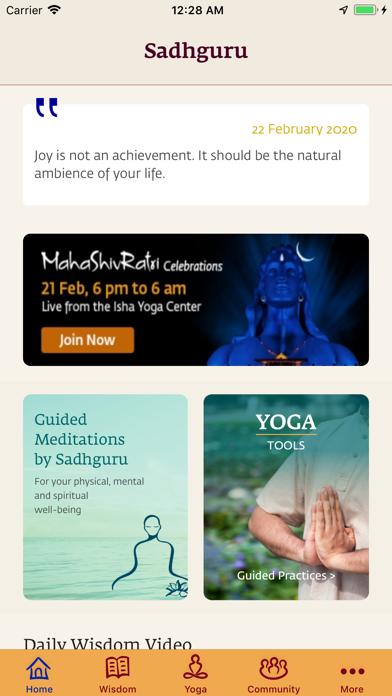 Sadhguru- Yoga & Meditationのおすすめ画像2