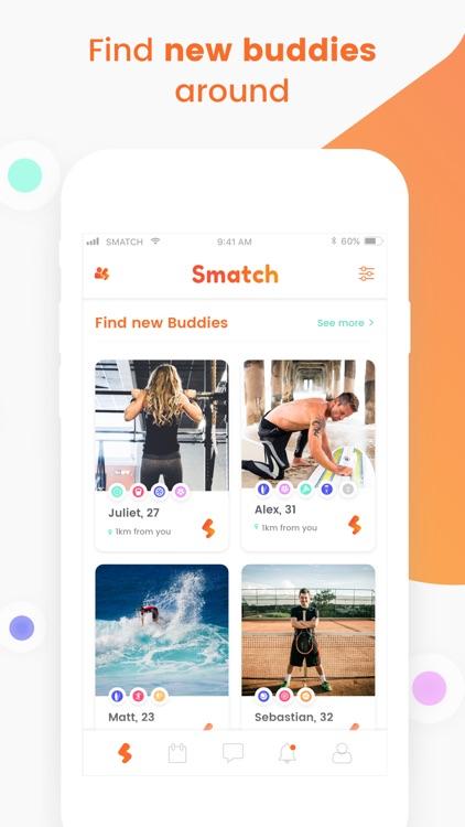 Smatch - Sport Buddies Around screenshot-3
