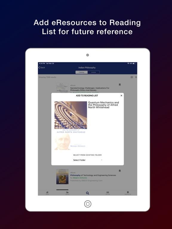 JCBOSEUST eLibrary screenshot 11