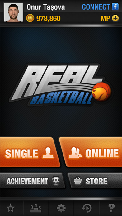 Screenshot from Real Basketball