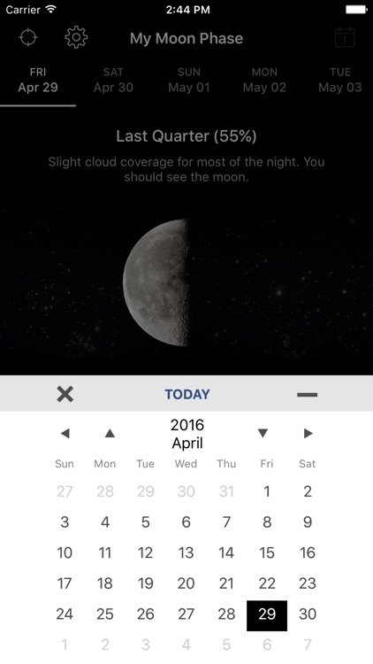 My Moon Phase - Lunar Calendar