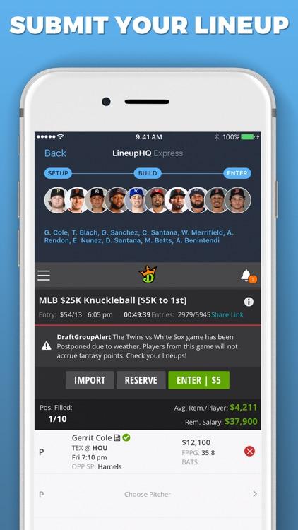 LineupHQ Express for DK screenshot-7