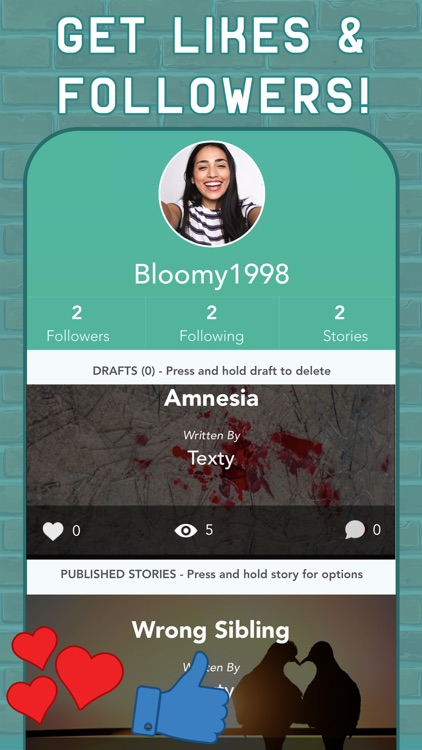 TEXTY: Chat Stories Text Story screenshot-4