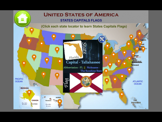 United States Map Quiz Game | App Price Drops