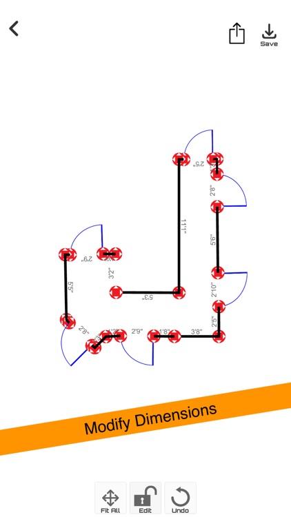 iMeasure-AR Tape & Floor Plan screenshot-5