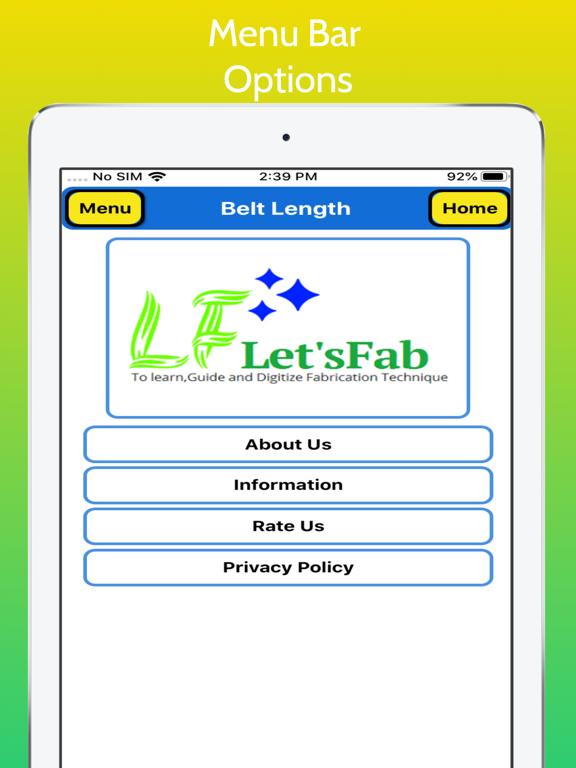 Belt Length Calculator Pro screenshot 16