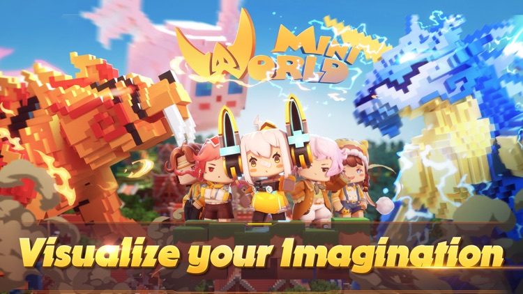 Mini World Block Art screenshot-0