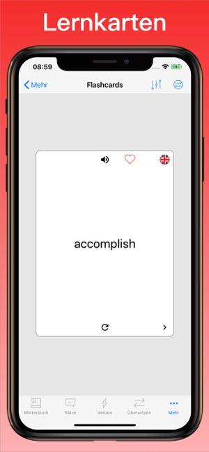 englisch ubersetzer worterbuch im app store