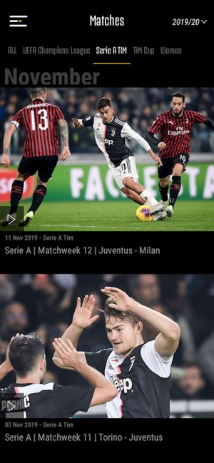 Juventus Tv On The App Store
