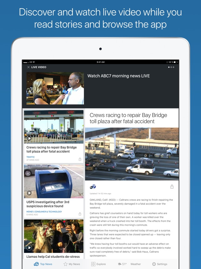 ABC7 San Francisco on the App Store