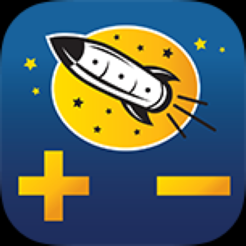‎Rocket Math Add & Subtract
