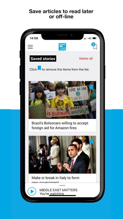 France 24 - World News 24/7 screenshot-3