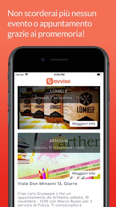 Screenshot for Ti Avviso in Ukraine App Store