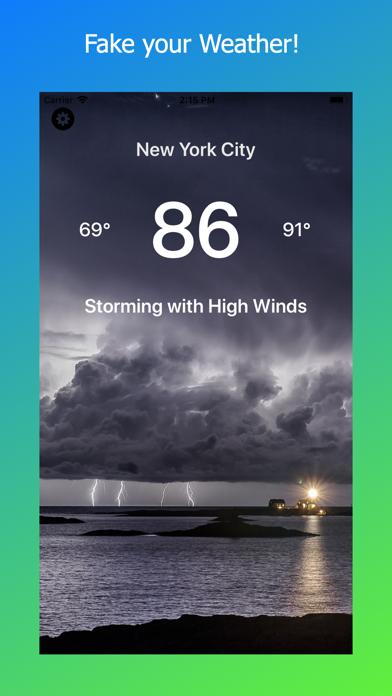 Fake My Weather