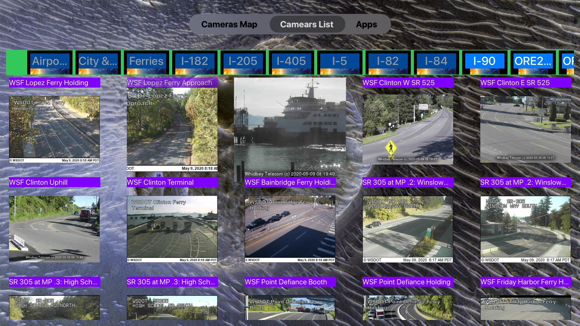Traffic Camera Washington Lite screenshot 18