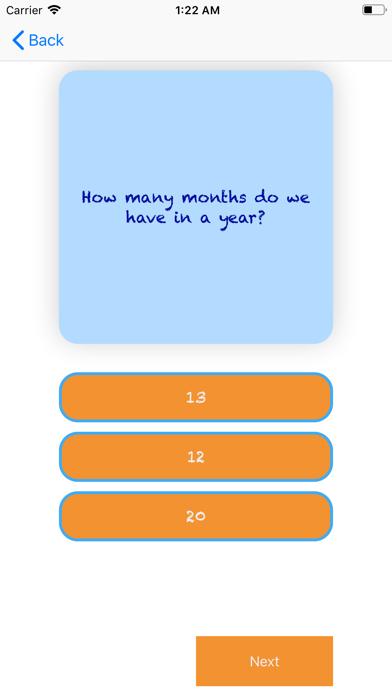 Kids Quiz Time screenshot #3