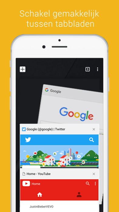 Screenshot for Chrome - webbrowser van Google in Netherlands App Store