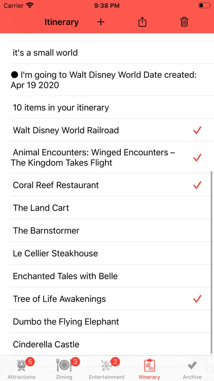 Theme Park Checklist: Bay Lake screenshot-3